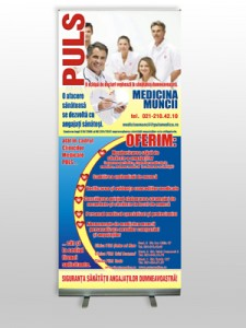 Sistem roll-up 100x200cm